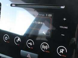 ■純正ディスプレイオーディオ■CD/USB/ラジオなどの多彩な機能が装備されております♪