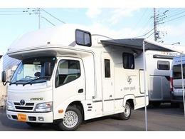 トヨタ カムロード ナッツRV製 クレソン スノーパーク ナビ 2サブ FF Rクーラー シンク冷蔵庫