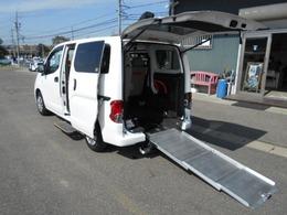 日産 NV200バネットバン 1.6 チェアキャブ 車いす1名仕様 専用サードシート有 スロープタイプ福祉車両