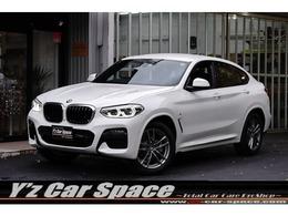 BMW X4 xドライブ20d Mスポーツ ディーゼルターボ 4WD ディーゼルターボ走行49キロTVナビ黒本革