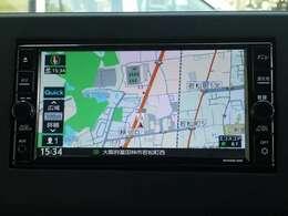 【ナビゲーション】ワイドで明るい液晶画面、簡単な操作方法、多機能ナビゲーション。知らない街でも安心です。 ≪オリジナルナビ  型番:MJ320D-WM≫