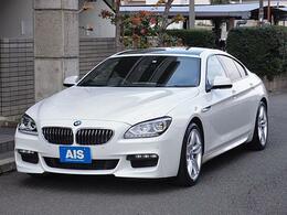 BMW 6シリーズグランクーペ 640i Mスポーツパッケージ ナビ TV ブラックレザーシート 禁煙車