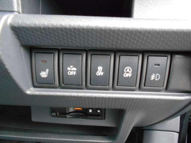 様々な安全装備がお客様の運転をサポートしてくれますよ。