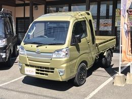 ダイハツ ハイゼットトラック 660 ジャンボ 3方開 4WD ・5速マニュアル・MJアルミ