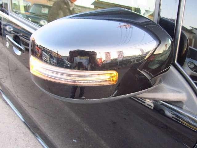 対向車に光でお知らせウィンカーミラー付き!!見た目もGOODな装備の一つです!!