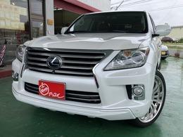米国レクサス LX 570 4WD 日本仕様純正ナビ 社外24インチAW