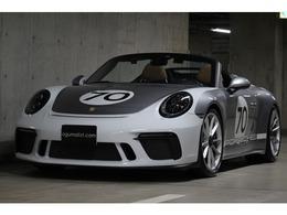 ポルシェ 911カブリオレ 991スピードスター ヘリテージデザイン 世界限定車 新車並行 1オーナー