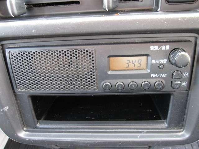 ラジオも付いてます!