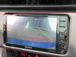 社外ケンウッドメモリーナビ付き♪ ガイド線付バックカメラで駐車も安心ですね♪ 広角のカメラを使用しております♪