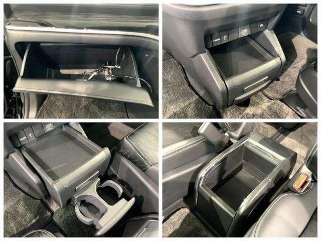 収納スペースが沢山あるので車内が散らからずに助かります。便利グッズを沢山入れて出かけましょう。
