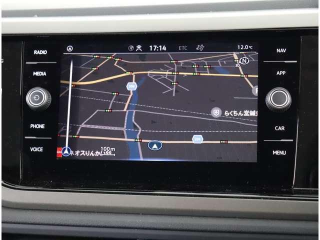 ★Volkswagen純正インフォテイメントシステムDiscover Media8インチタッチスクリーンにセンサーボタンとダイヤルを採用することで高い視認性とスムーズな操作性を実現します。