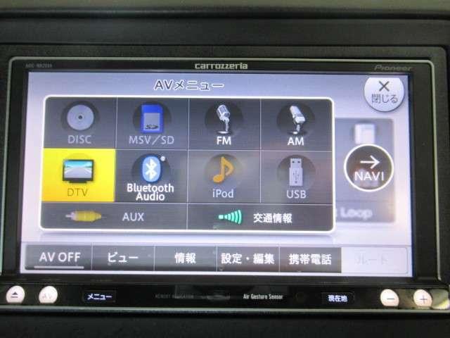 社外ナビ付きでフルセグ&DVd再生&音楽録音&Bluetooth!