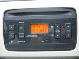 CDラジオデッキです。
