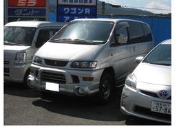 三菱 デリカスペースギア シャモニー 4WD/サンルーフ/片側スライド/3列シート