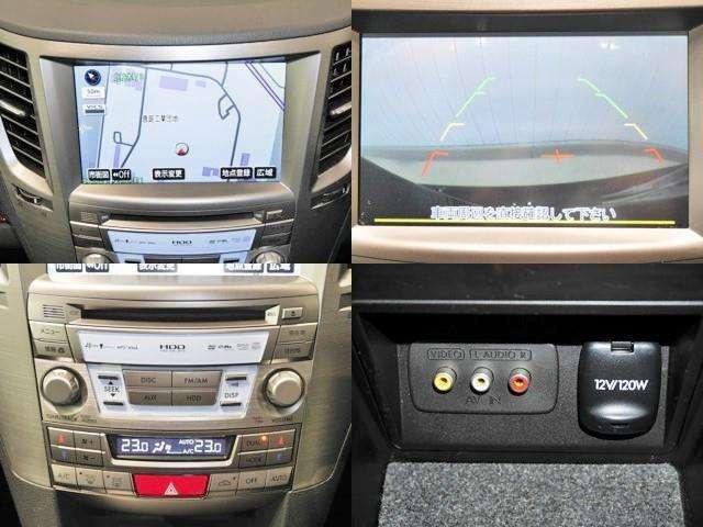 HDDナビ/バックモニター/CDオーディオ/VTR端子
