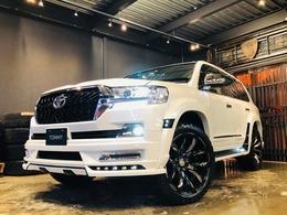 トヨタ ランドクルーザー200 4.6 AX 4WD 後期仕様化 WALDフルエアロ リフトアップ