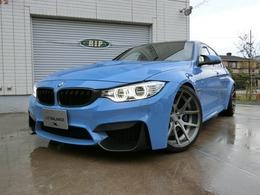 BMW M3セダン M DCT ドライブロジック KW AWEマフラー agioホイール ECUチューン