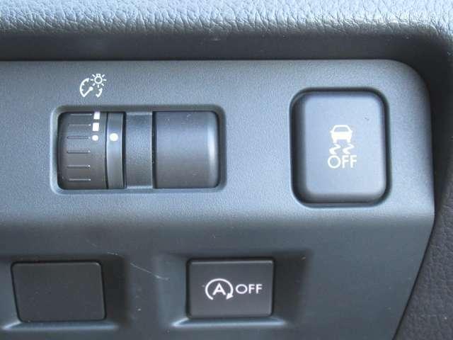 横滑り防止装置付きです! 滑りやすい路面走行も安心です!