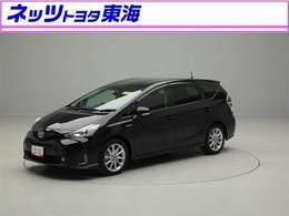トヨタ プリウスα 1.8 S ツーリングセレクション メモリ-ナビ フルセグTV バックモニタ-