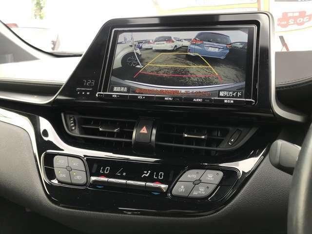 【9インチSDナビ】あると嬉しい【バックカメラ】付き!地デジ対応フルセグTV/DVD/Bluetooth対応です♪【デュアルエアコン】運転席・助手席でそれぞれ温度調整が可能です!