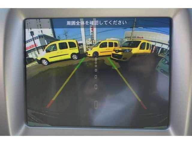 バックモニターも搭載しており、大きなボディでも駐車しやすく安心です!