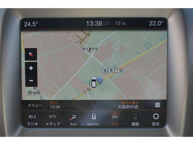 ジープ純正UConnectパネルモニターを搭載しており、Apple CarPlayとAndroid Autoがご利用可能です!!