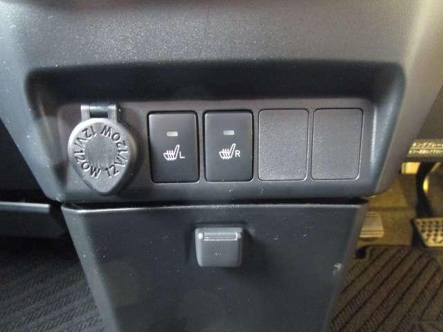 シートヒータースイッチ