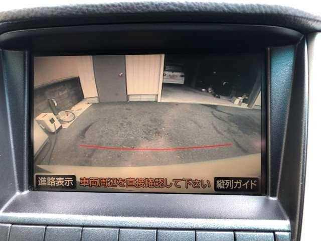 運転席から画面上で安全確認ができます。駐車が苦手な方にもおススメな機能です♪