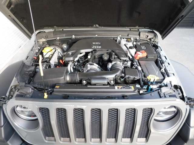 3.6リッターV6 DOHCエンジン