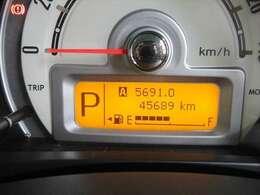 走行距離約46000キロ! まだまだこれからのおクルマですので、ぜひ大切に乗ってあげてください☆