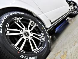 17inchFLEXオリジナル【Delf02】アルミ&17inchグッドイヤーナスカータイヤ!