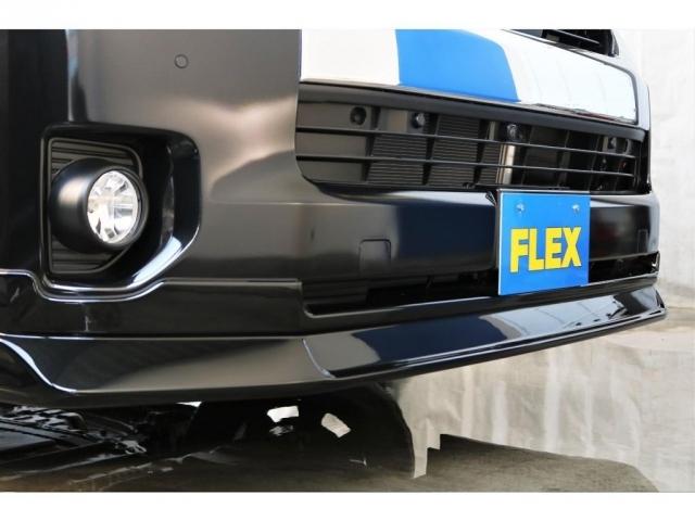 FLEXオリジナルDelfinoLineフロントリップスポイラーを装備!