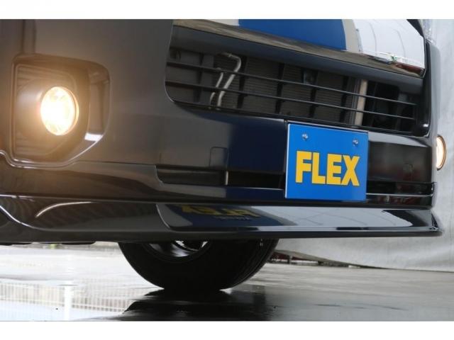 FLEXオリジナルフロントリップスポイラー!一気に印象が変わります!