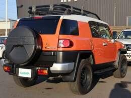 【 OP USトヨタ背面タイヤカバー  】マットブラックでクールに決まった北米仕様の背面タイヤカバーです!