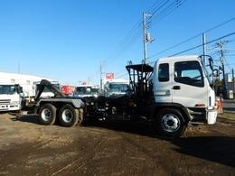いすゞ ギガ アームロール 新明和ツインホイスト 積載11600kg(抹消前)
