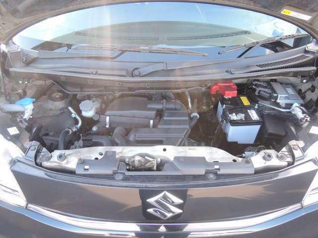防錆処理済みです♪車の心臓とも呼べるエンジンルーム!自社工場にてしっかりとメンテナンスをし、安全・安心な状態でお渡し致します。