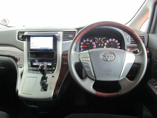 コンビハンドルが高級感たっぷり!運転席はこんな感じです!