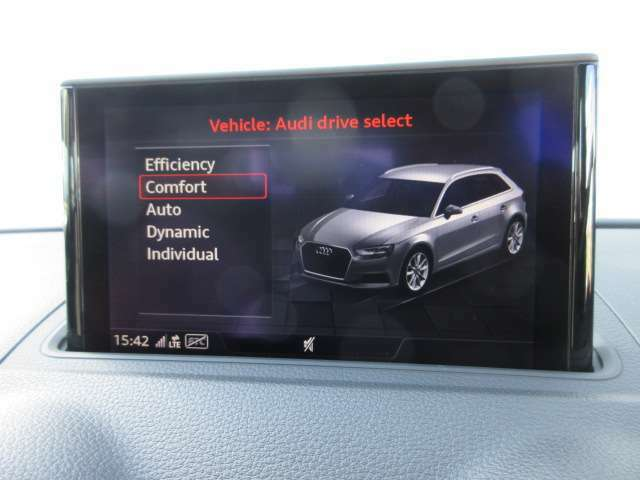 ◆ドライブセレクト◆走行状況に応じてモード選択する事で、更にドライブが楽しくなります◆