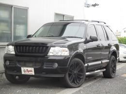 フォード エクスプローラー エディバウアー 4WD 黒革同色バンパー地デジHDDナビBカメラ