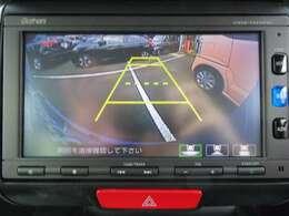 バックカメラも装備しておりますので、車庫入れも安心ですね!