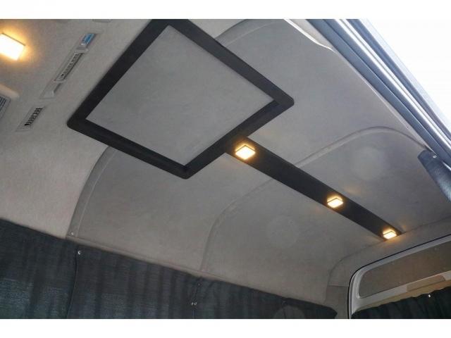 天井、壁面はもちろん断熱処理☆彡ダウンライトの照明も雰囲気の出るアイテムですね☆彡
