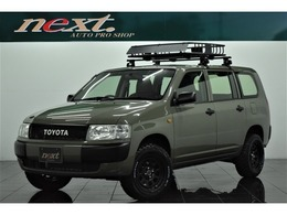 トヨタ プロボックスバン 1.5 DXコンフォートパッケージ 4WD リフトアップ キャリアラック カスタム