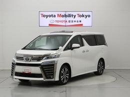 トヨタ ヴェルファイア 2.5 Z Gエディション 7人乗 TSS MOPナビ 走行6千K 新車保証継承