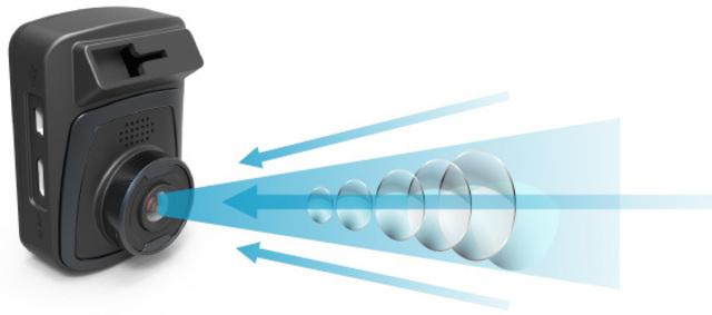 F値が2.0の明るいレンズを採用して夜間撮影の明るさを確保しました。さらにレンズは熱による変形や劣化に強いガラスレンズ採用しています。