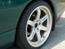 RAYS18AW タイヤほぼ新品です。