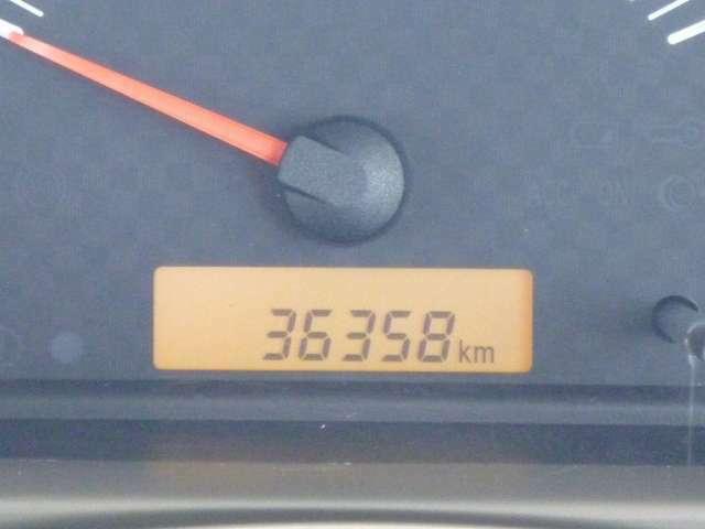 走行キロ数は36,358kmです