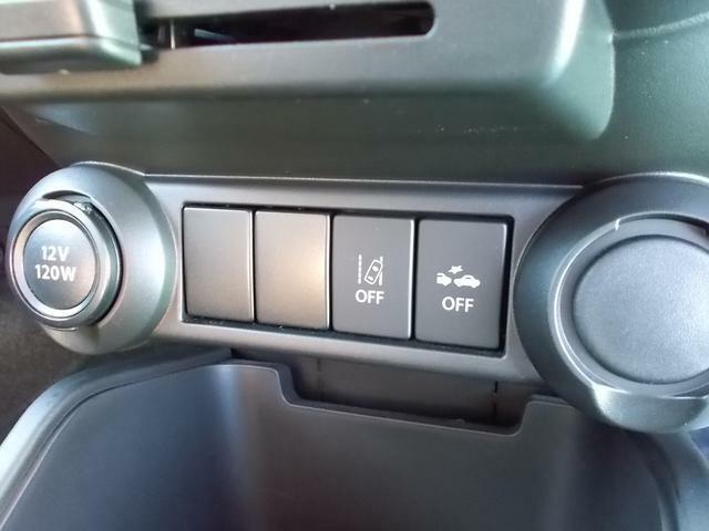 デュアルカメラブレーキサポートOFFと車線逸脱警報機能OFFのスイッチ☆使い方はご納車の時にしっかりご説明しますのでご安心ください☆