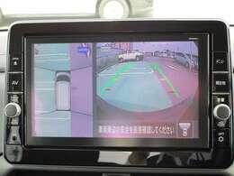 アラウンドビューモニター 上から見下ろしたような映像で、駐車時のサポートをします