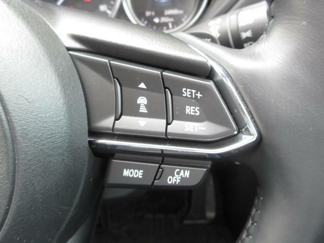 高速走行時に便利なレーダークルーズコントロールが付いております。車間距離も設定出来る様になり、さらに長距離ドライブが楽になりました!