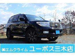 トヨタ ランドクルーザー200 4.7 AX Gセレクション 4WD 本革シート 社外20インチAW
